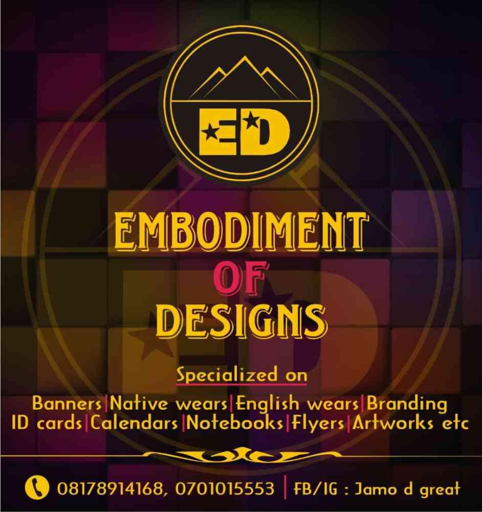 Embodiment of designs