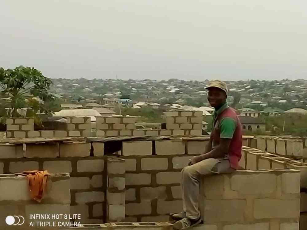 Agunbiade bricklayer