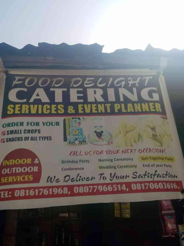 Food Delight Catering Services.