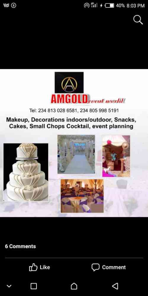 AmGOLD EVENT WORLD