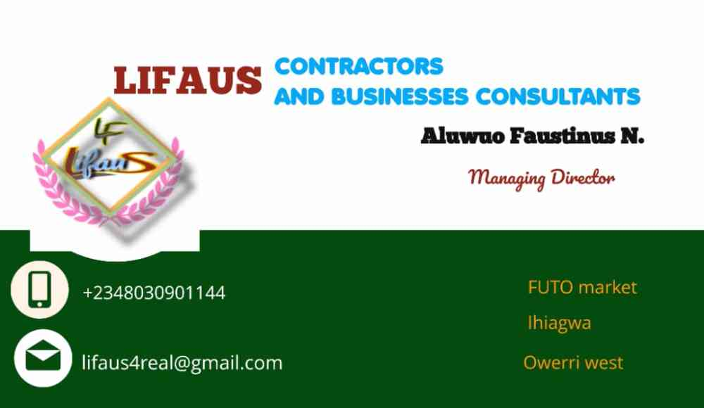 Lifaus contractors and business consultant