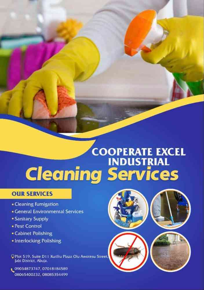 Cooperate excel industrial cleaning picture