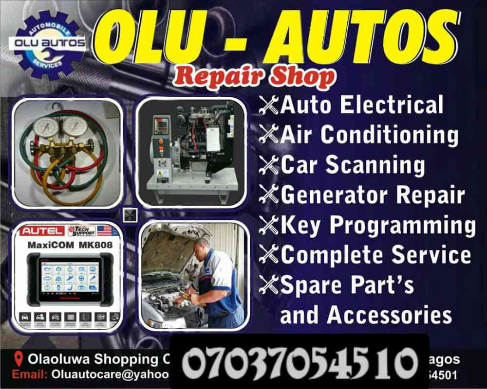 Olu autos repair shop picture