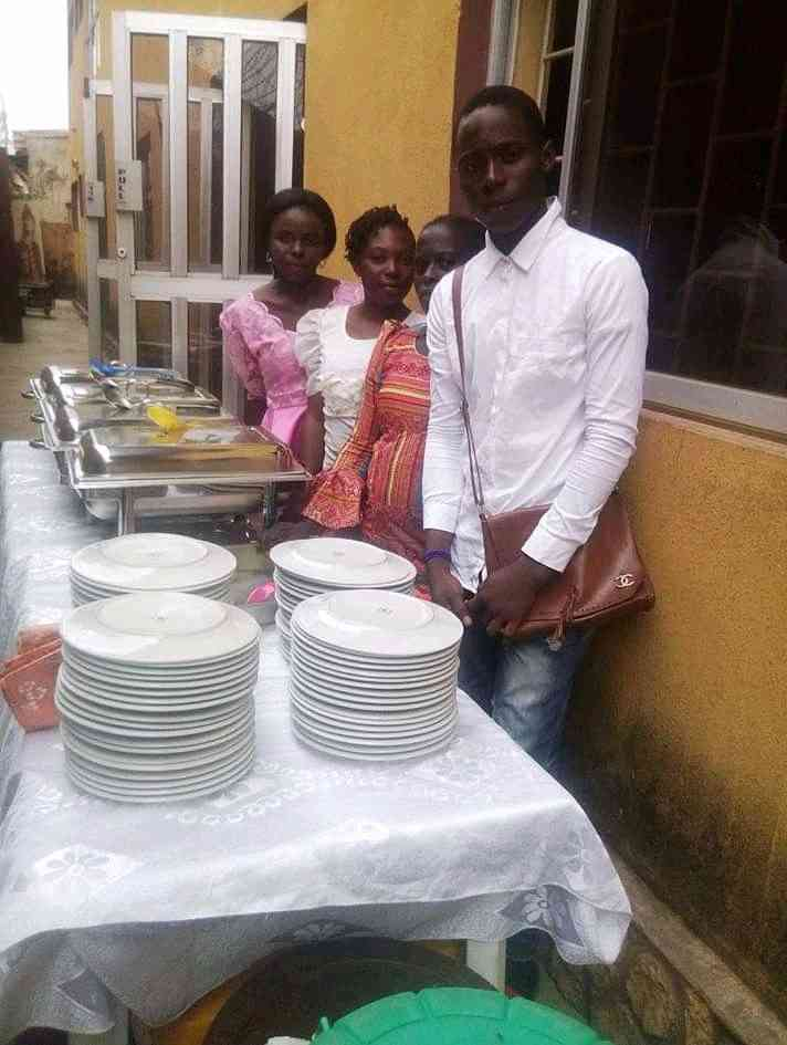 Abundant catering services