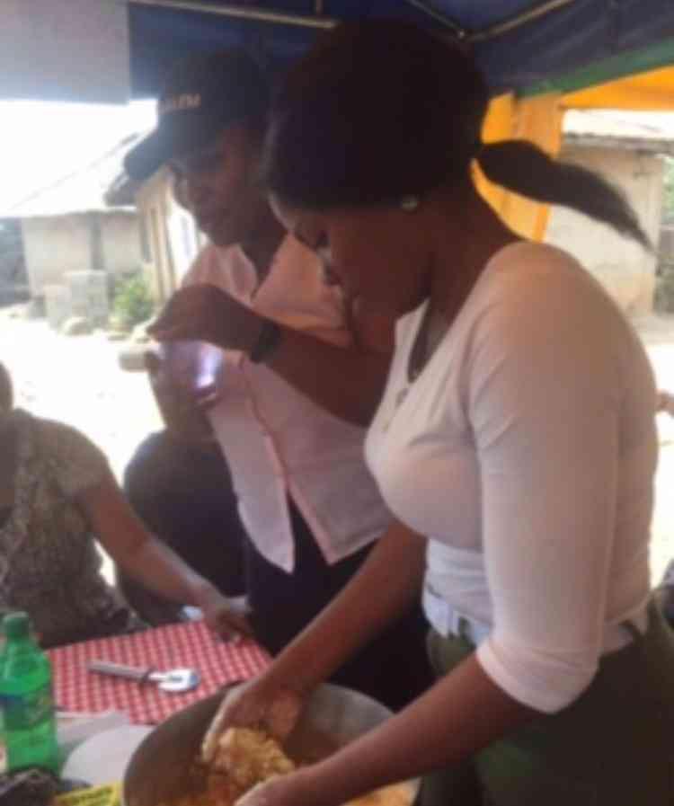 Iwalewa cakes and cream