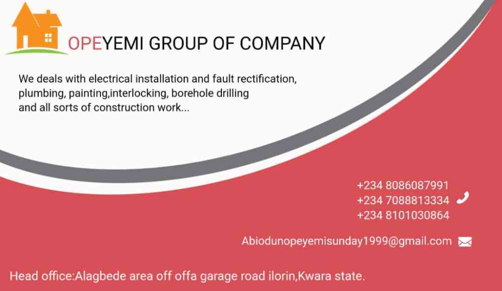 Opeyemi group of company