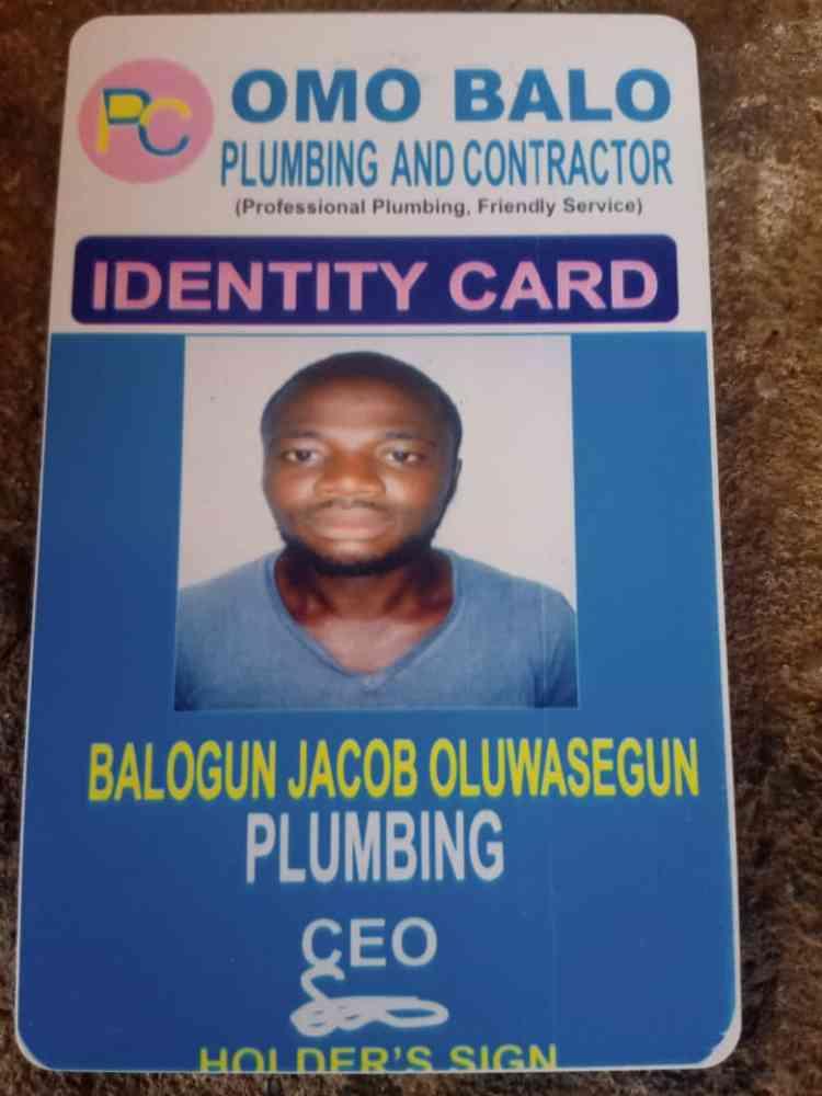 Omo balo plumbing and contractor