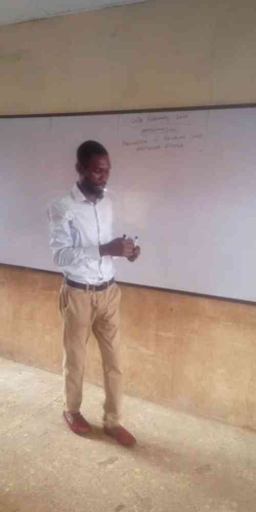 Teacher Temitope