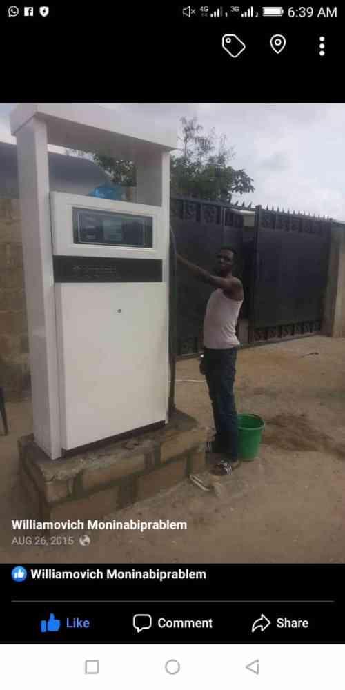 Wiladore fueling equipment
