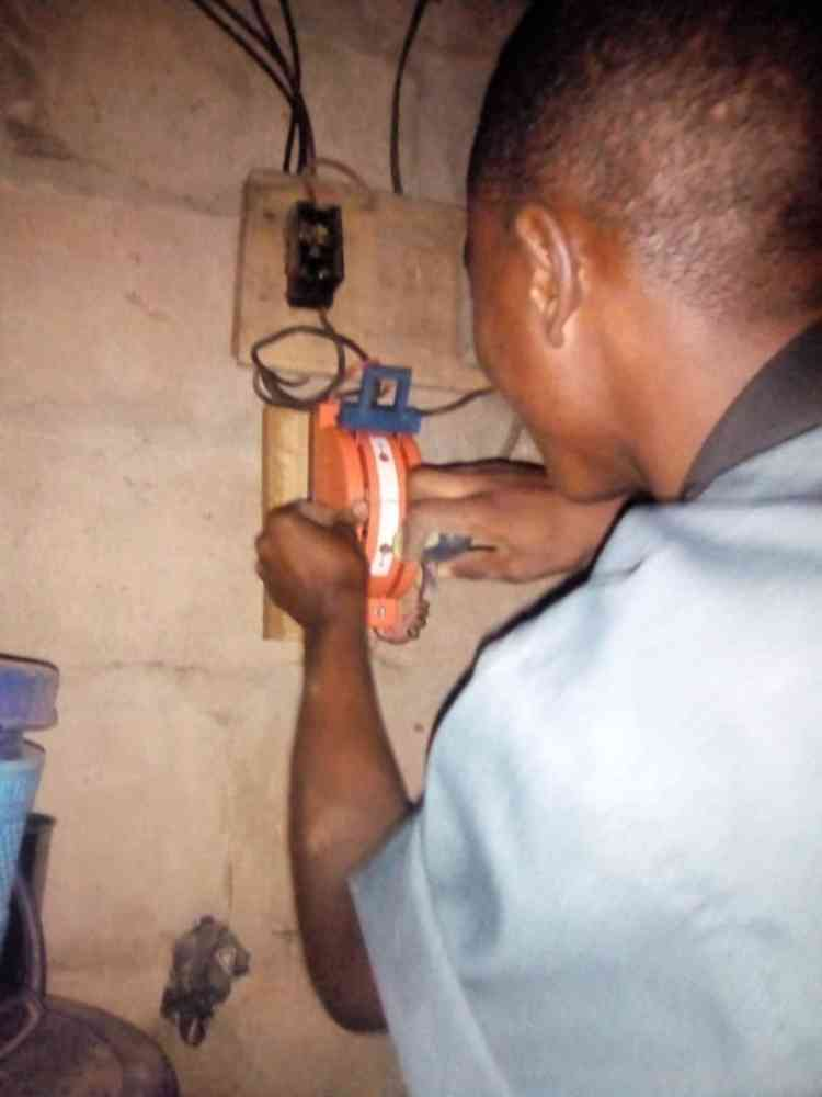 Yuskem electrical wiring work
