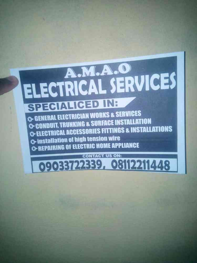 Amao electrical service