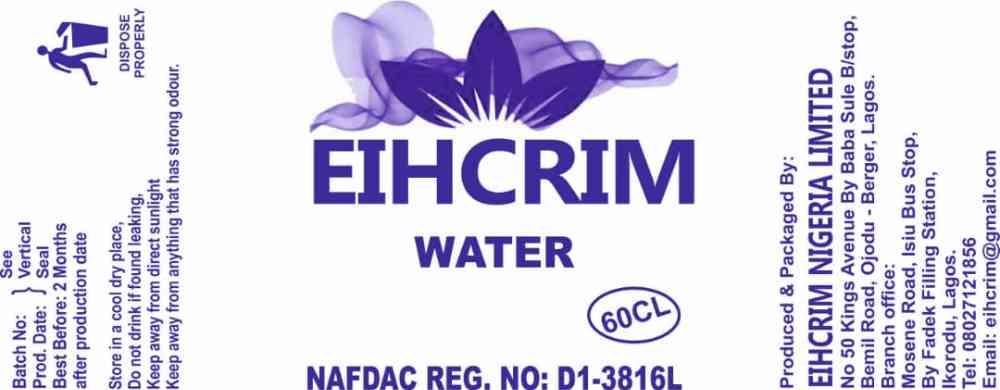 Eihcrim Nigeria limited