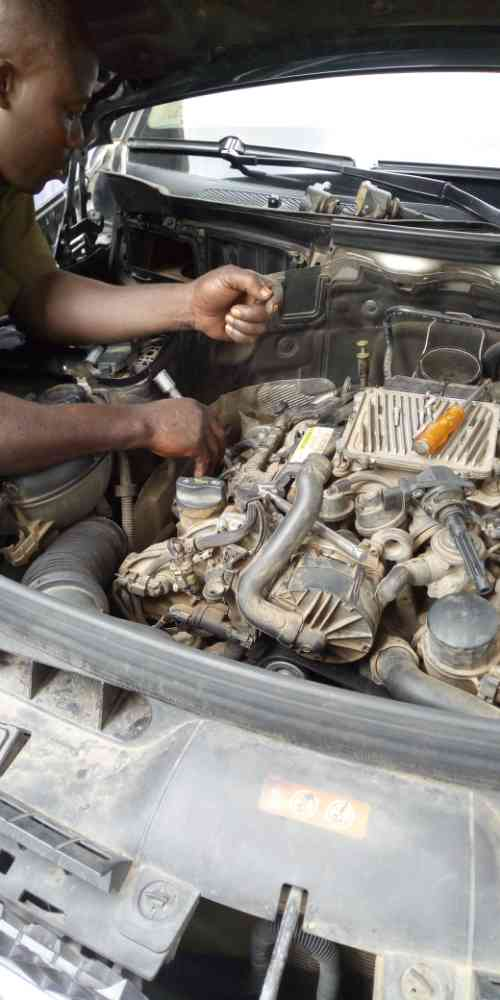 Technical responsibility manger Dayo Adeyinka