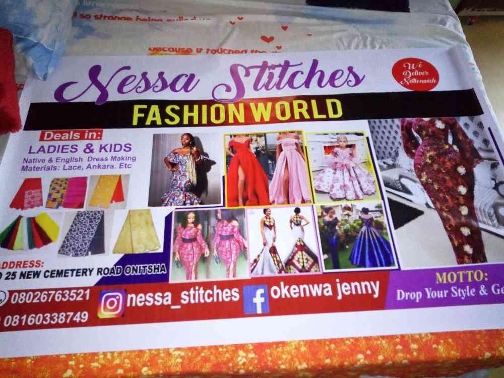 Nessa stitches fashion world