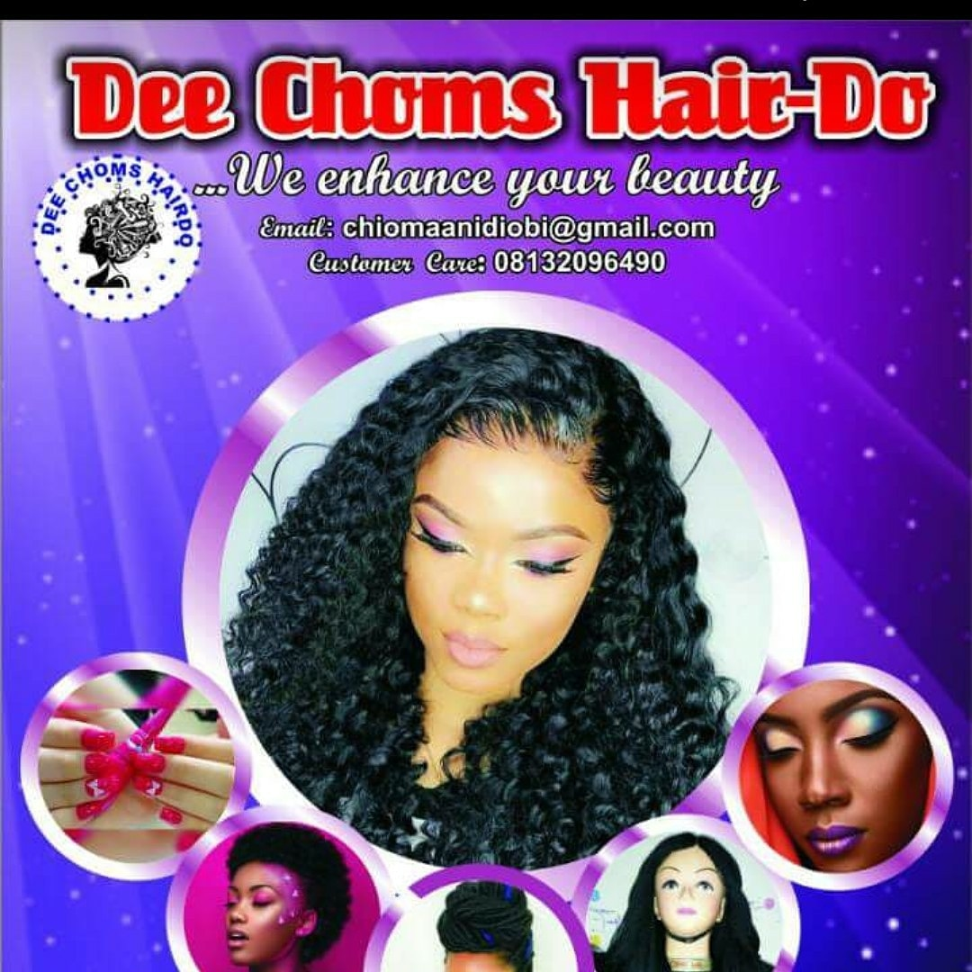 De choms hair do