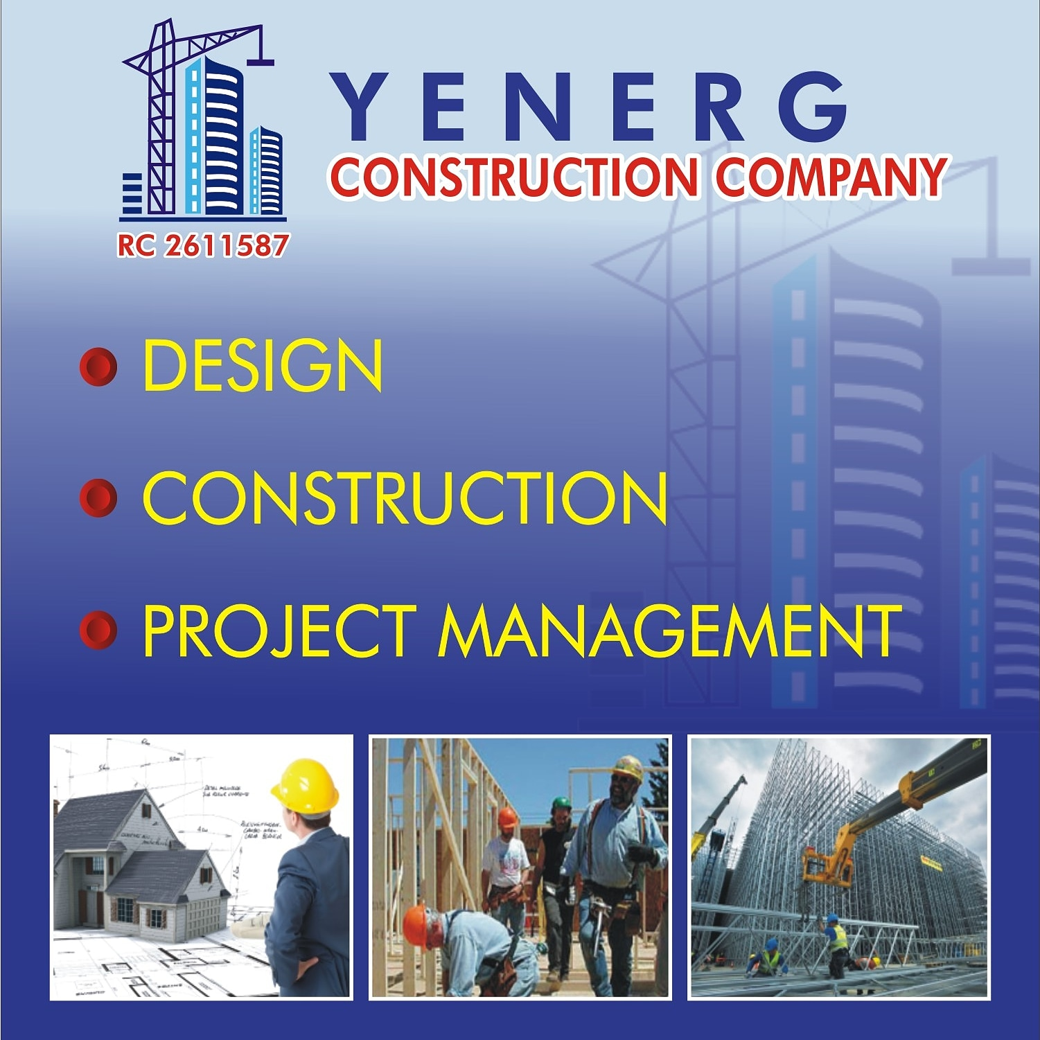 YENERG CONSTRUCTION COMPANY picture