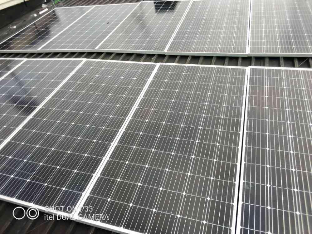 Inverter n solar installation