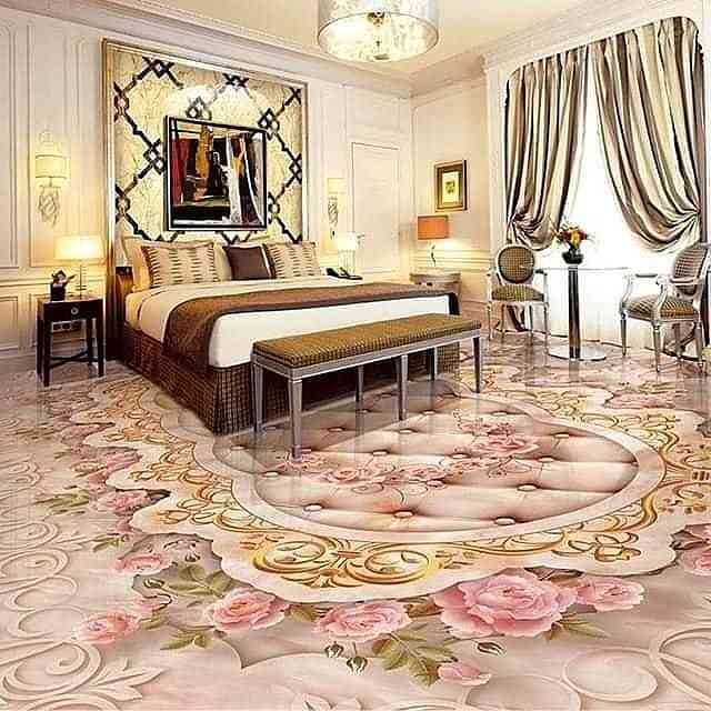 Heaven on Earth interior and exterior decorations