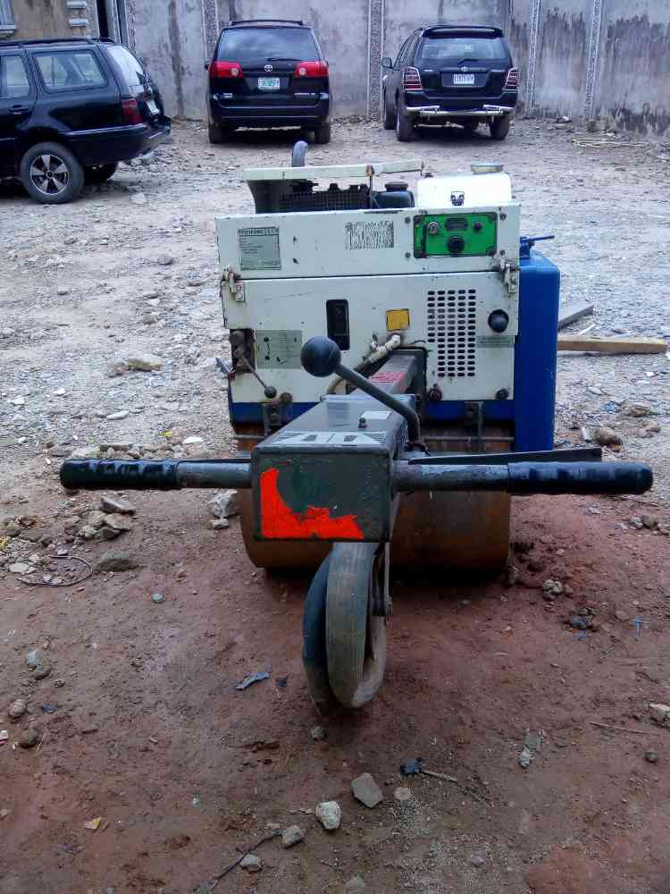 Terex Benford MBR71 pedestrian single drum compaction roller