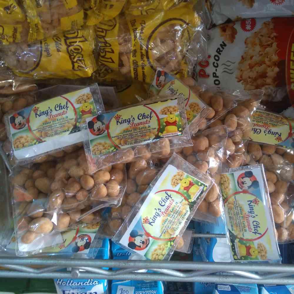 King's chef peanuts