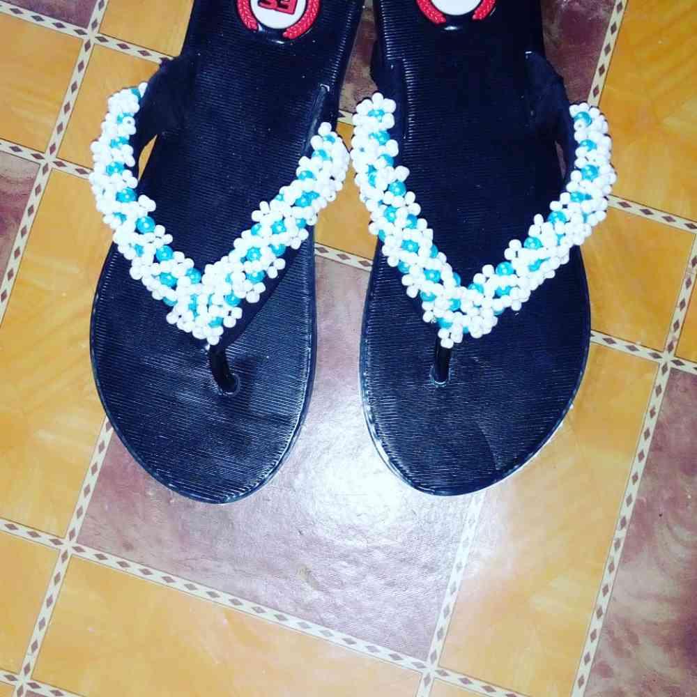 Gracey beaded footwears