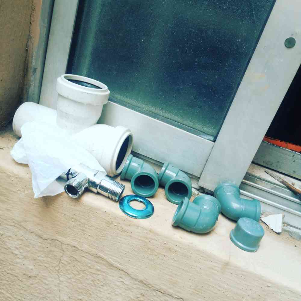 Plumbing and pipes fitting