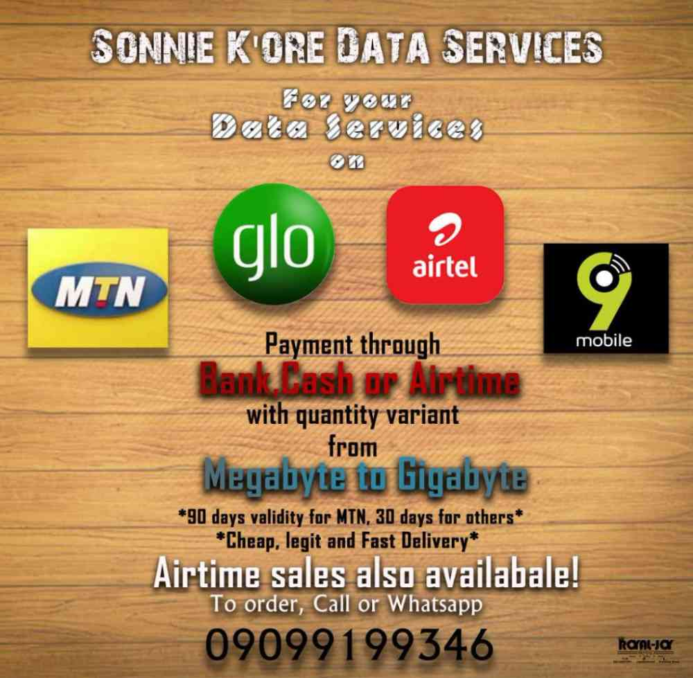 Sonnie k'ore data bundles
