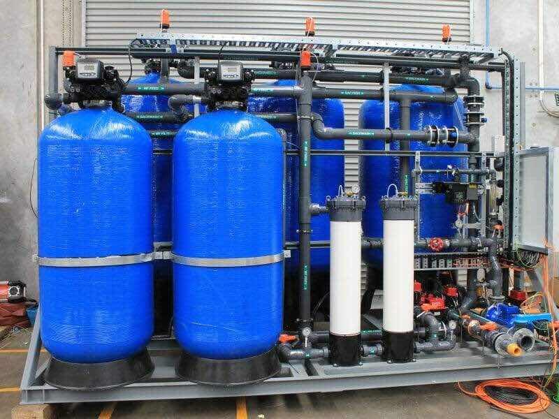 Water purification and mechanization