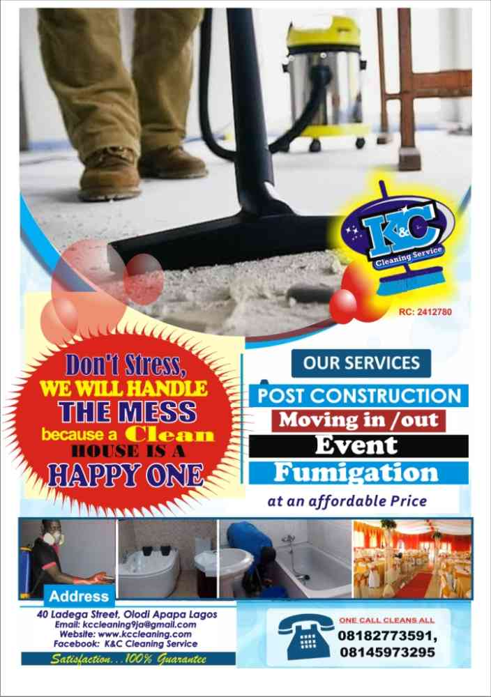K&C CLEANING SERVICE