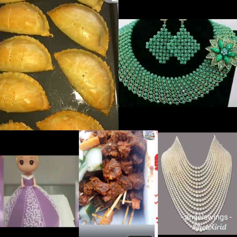 Angel'swings beads, cakes, snacks and beverages production img