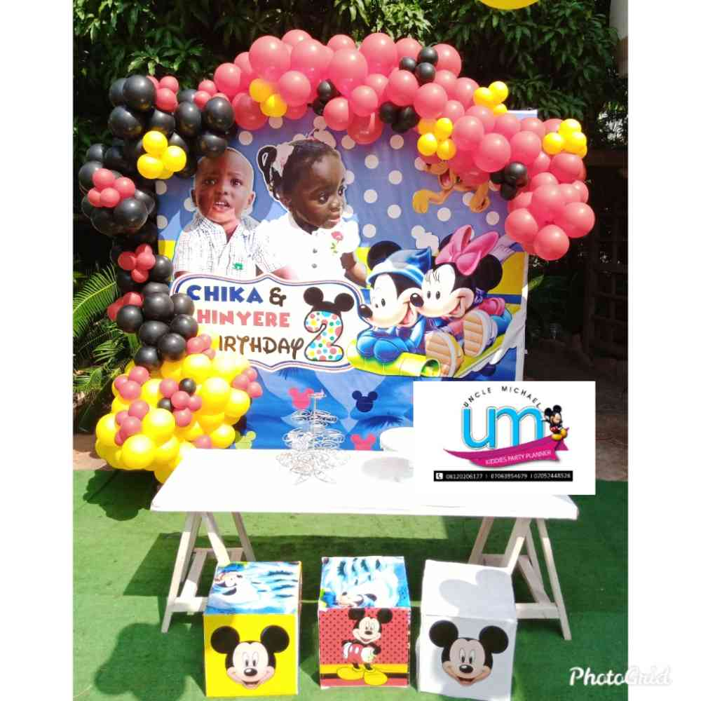 Uncle Michael Kiddies Party planner picture