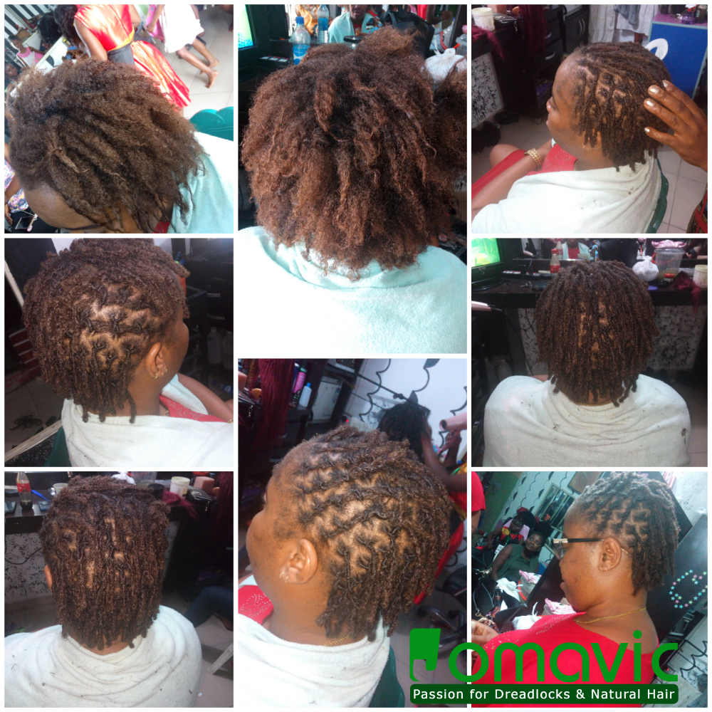 Jomavic passion for dreadlocks and natural hair