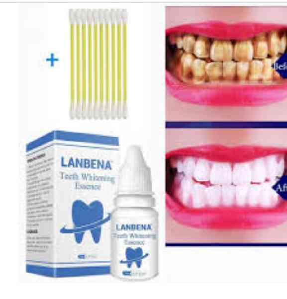 Labena teeth whitening essences and %100 natural teeth whitening. picture