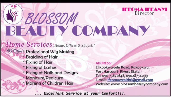 Blossom beauty company picture