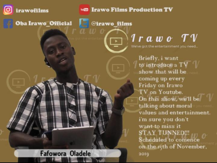 A Show Presenter (Irawofilms TV)