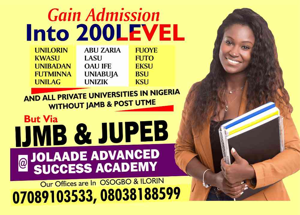 Jolaade advanced success academy