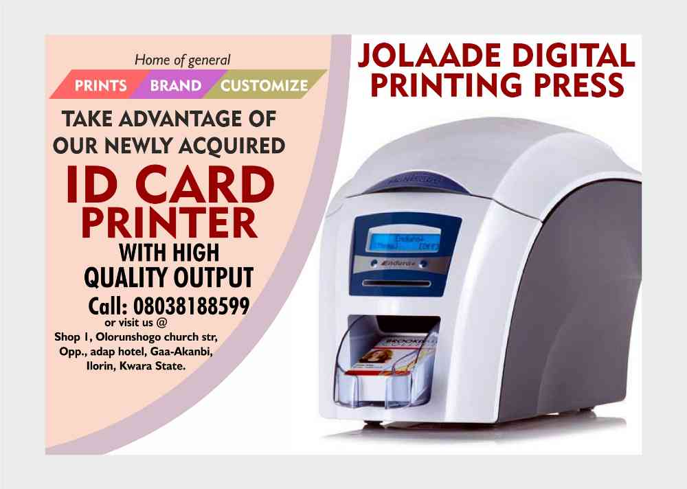 Jolaade Digital Printing Press picture