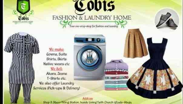 Tobis Fashion and Laundry Home