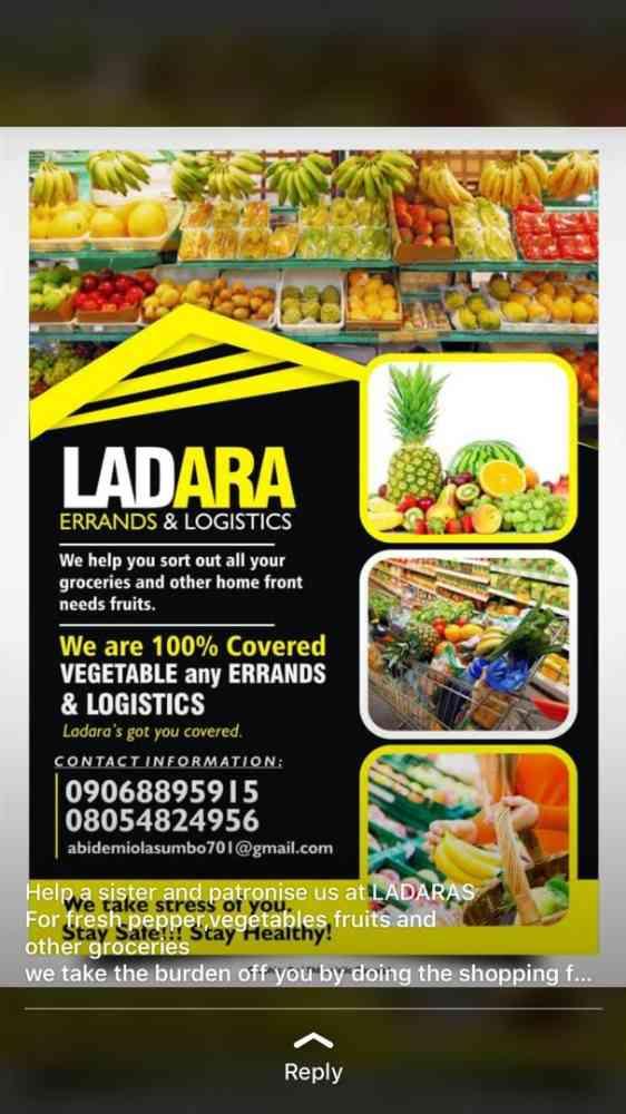 Foods,errands & Logistics