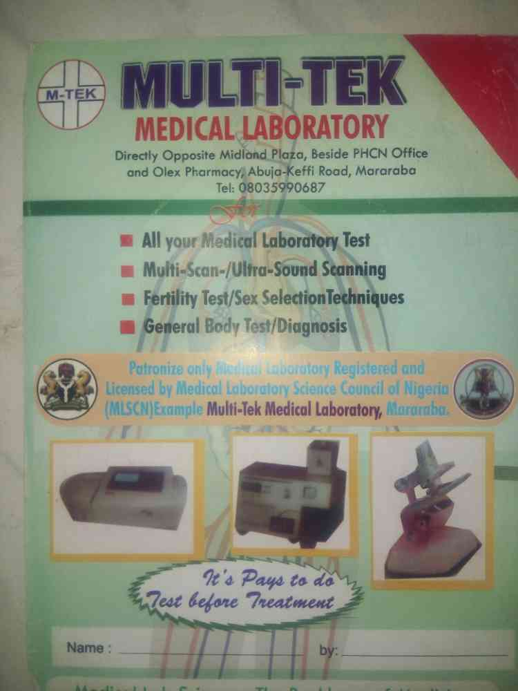Multi Tek medical laboratory