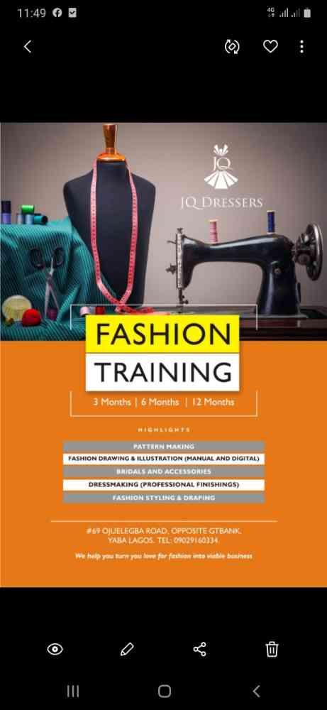 JQ  Dressers Fashion School