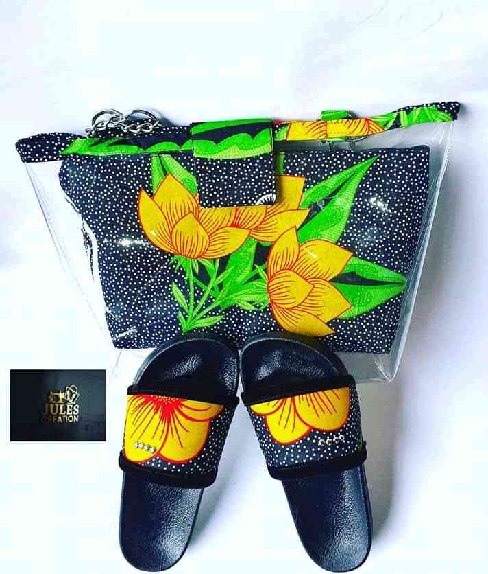 Zuliaudre Ankara bags and Clutch purse