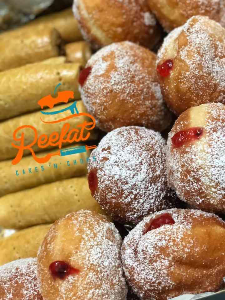 Reefat cakes n chops