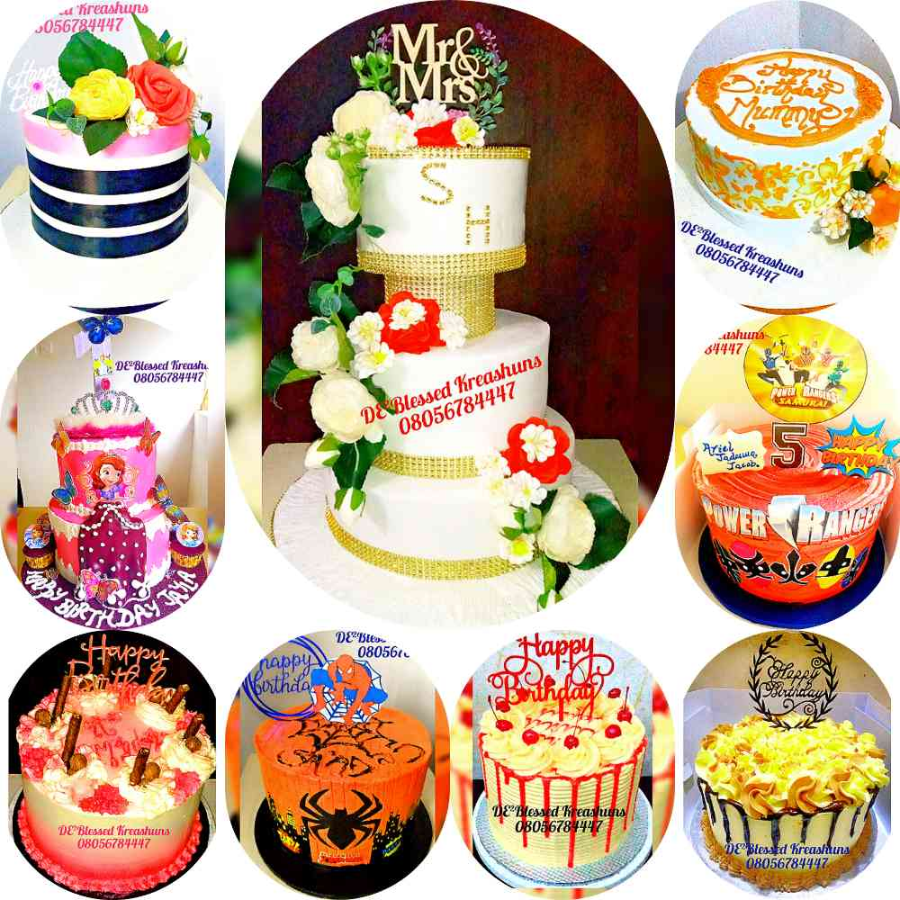 DE²Blessed Smart Cakes
