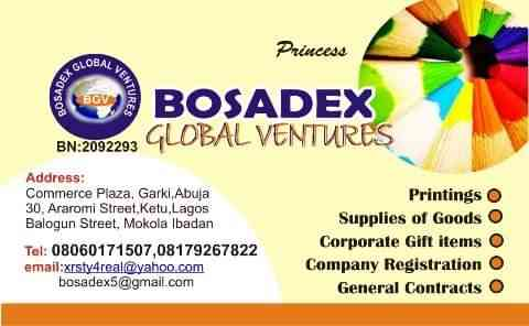 Bosadex Global Ventures
